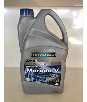 Трансмиссионная гидравлическая жидкость RAVENOL MERCON V Fluid 4L