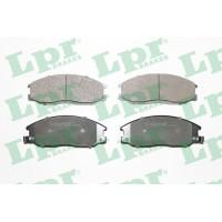 Тормозные колодки дисковые LPR 05P859 Hyundai Trajet 2.0 2.7