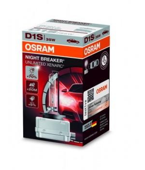 Лампа ксеноновая Osram OS 66140 XNB ХЕNARC NIGHT BREAKER D1S 85V 35W PK32D-2