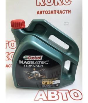 Синтетическое моторное масло Castrol Magnatec 5W30 A5 Stop-Start 4L