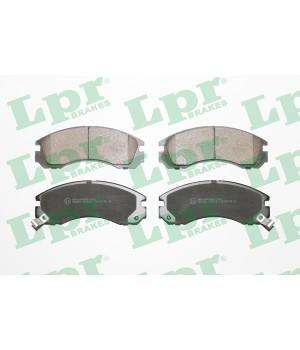 Тормозные колодки передние LPR 05P578 Mitsubishi Galant L200 L400 Lancer