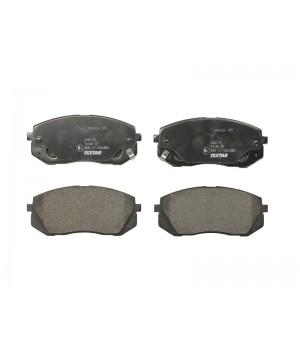 Тормозные колодки передние Textar TX 2450101 KIA Carens Sportage