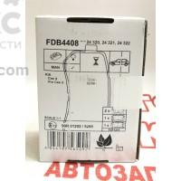 Тормозные колодки задние Ferodo FE FDB4408 KIA CEED