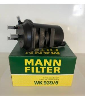 Фильтр топливный MANN WK 939/6 Nissan Micra Note Tida Almera