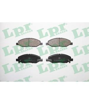 Тормозные колодки передние LPR 05P1497 Nissan Tida