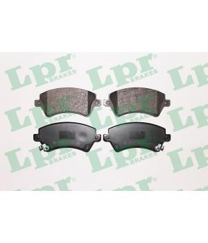 Тормозные колодки передние LPR 05P1002 Toyota Corolla 1.4 1.6 1.8 2.0