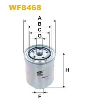 Фильтр топливный WIX WF8468 Mitsubishi ASX Lancer Outlander