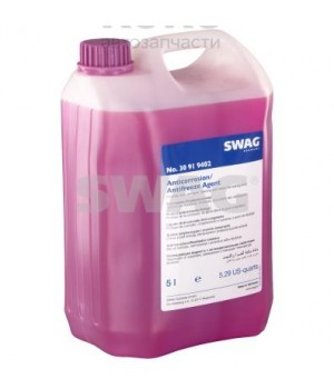 Концентрат антифриза G12+ Swag SW 30919402 сиреневый 5L