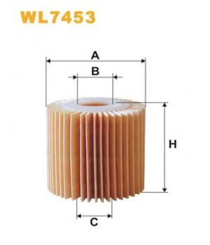 Фильтр масляный WIX WL7453 Toyota Camry Avalon Venza
