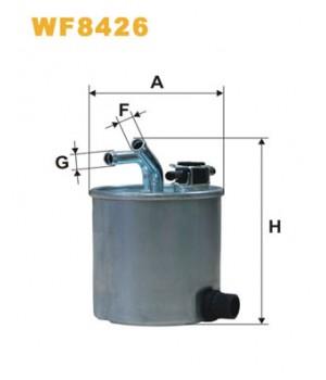 Фильтр топливный WIX WF8426 Nissan Pathfinder Navara