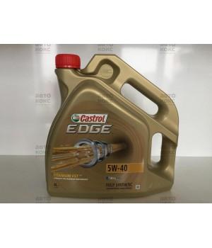 Синтетическое моторное масло Castrol EDGE 5W40 C3 4л