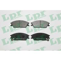 Тормозные колодки передние LPR 05P542 Hyundai Accent Getz Lantra