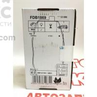 Тормозные колодки передние Ferodo FE FDB1869 Hyundai I30 KIA Carens CEED Soul