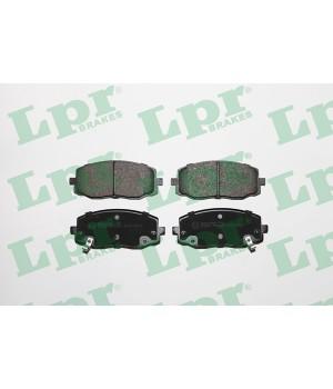 Тормозные колодки передние LPR 05P1220 KIA Hyundai