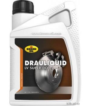 Тормозная жидкость KROON OIL KL 33820 Drauliquid-LV Super DOT 4 1л