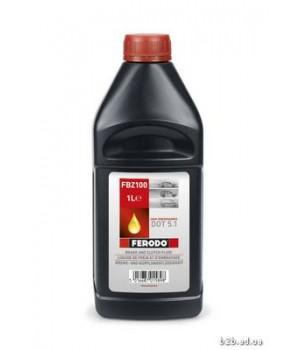 Тормозная жидкость Ferodo FE FBZ100 DOT5.1 1L