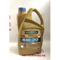 Синтетическое моторное масло Ravenol 5W30 FO 4L