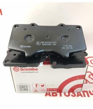 Тормозные колодки передние Brembo BM P83066 Toyota FJ Cruiser Hilux Land Cruiser Prado
