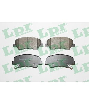 Тормозные колодки передние LPR 05P1744 Hyundai KIA