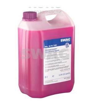Концентрат антифриза G12++ Swag SW 30937401 сиреневый 5L