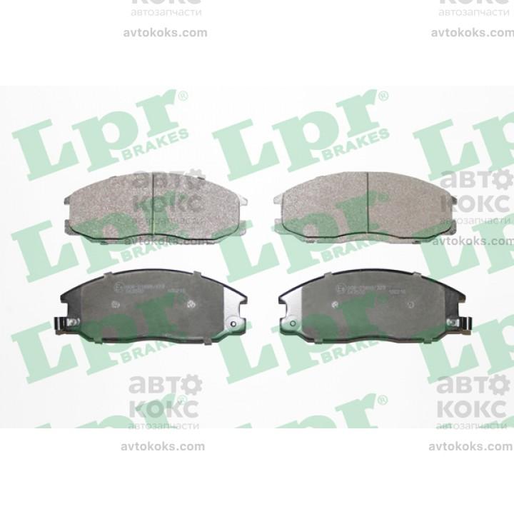 Тормозные колодки дисковые LPR 05P860 Ssangyong Hyundai KIA