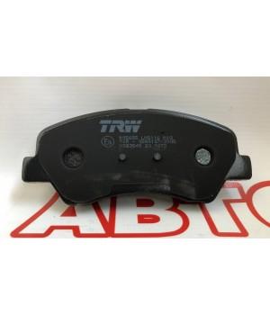 Тормозные колодки передние TRW GDB3548 KIA Rio Hyundai Accent