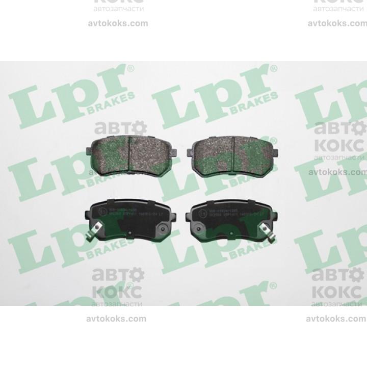 Тормозные колодки задние LPR 05P1411 Hyundai i10 KIA Picanto