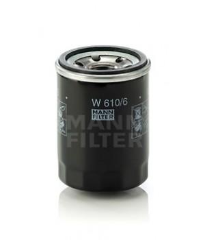 Фильтр масляный MANN W 610/6 Honda Accord Civic