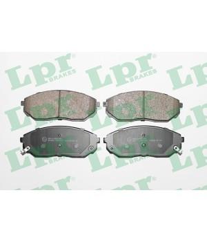 Тормозные колодки передние LPR 05P1207 KIA Sorento 2.4 2.5 3.3 3.5